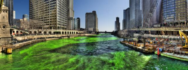 Green_Chicago_River