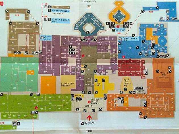 Metropolitan Museum MAP (1)
