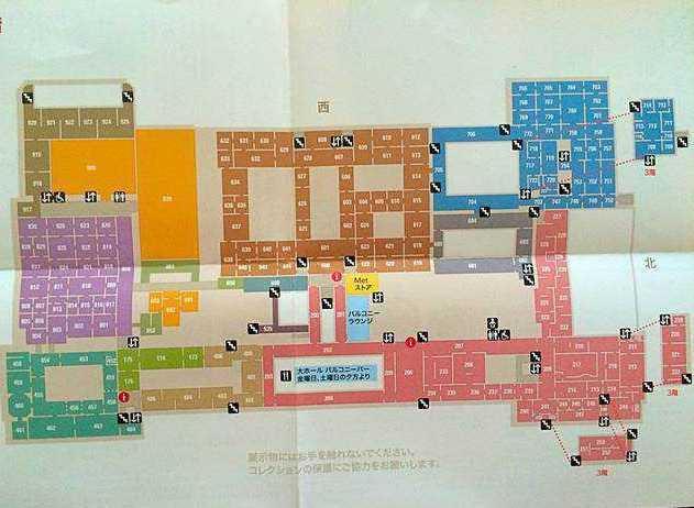 Metropolitan Museum MAP (3)