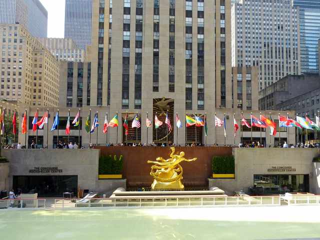 Rockefeller Center Autumn-1