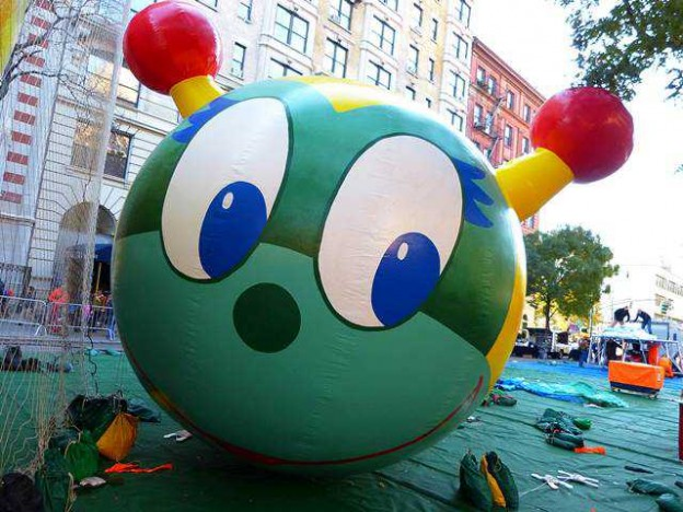 Macy's Thanksgiving Parade Balloon Inflation (10)
