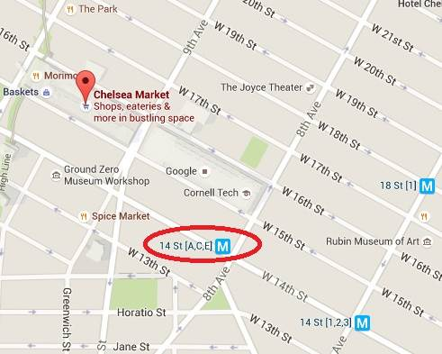 Chelsea Market Map