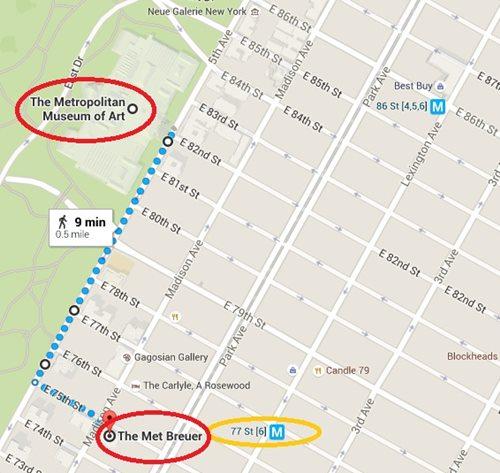 The Met Breuer MAP