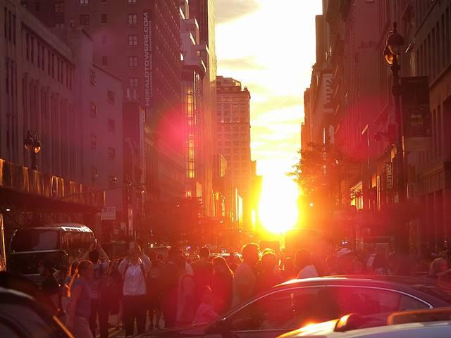 Manhattanhenge (2)