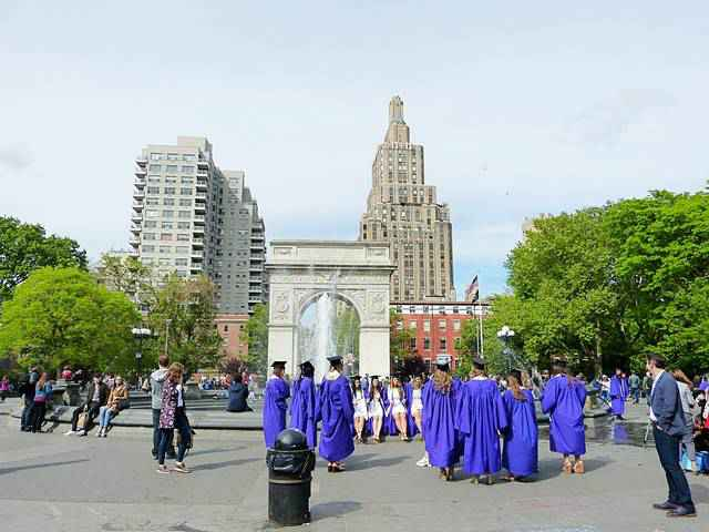 Washington Square Park Graduation (6)
