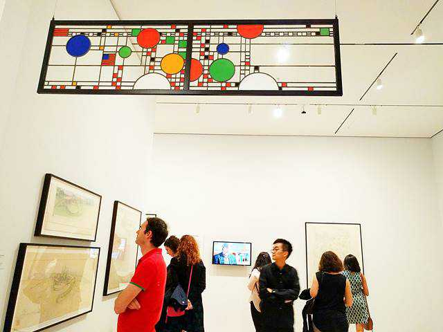 Frank Lloyd Wright MoMA (1)