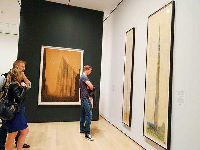 Frank Lloyd Wright MoMA (18)