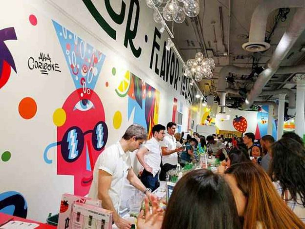 Perrier pop up NYC (1)
