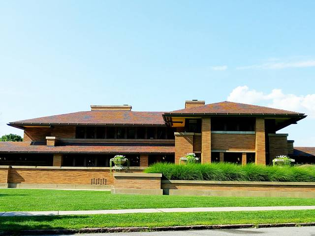Frank Lloyd Wright's Darwin Martin House (1)
