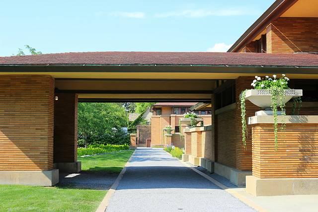 Frank Lloyd Wright's Darwin Martin House (8)