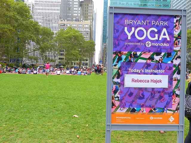 Bryant Park Yoga (2)