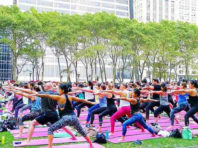 Bryant Park Yoga (7)