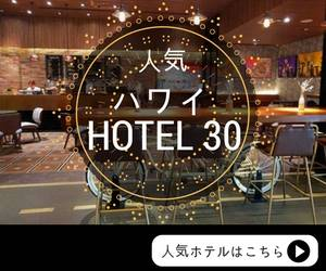 Hawaii Hotel 30 Banner