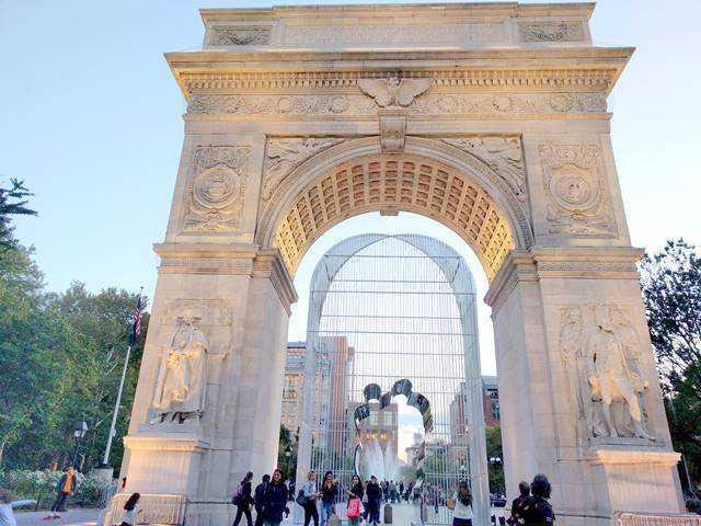 Ai Weiwei Washington Square Park (1)
