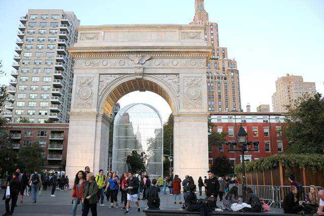 Ai Weiwei Washington Square Park (2)
