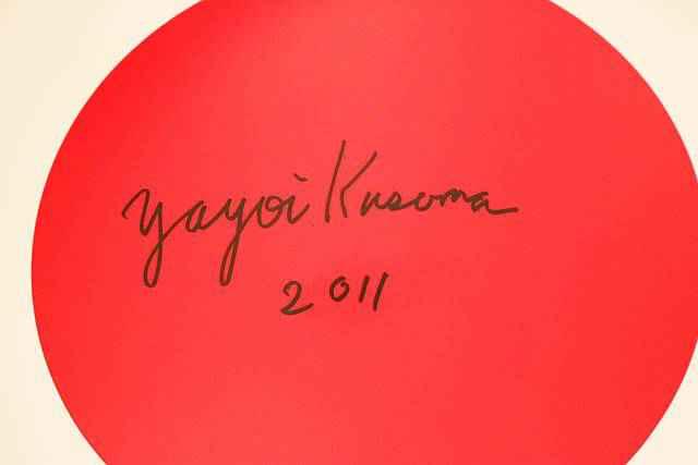 Yayoi Kusama David Zwirner (4)