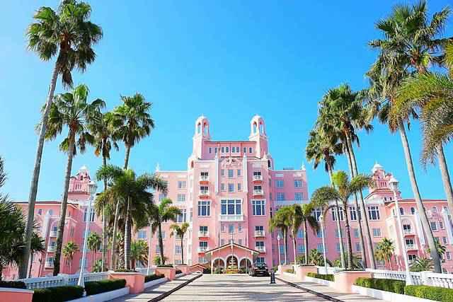 フロリダの可愛いピンクパレス ドン・セザール The Don CeSar - Petite ...
