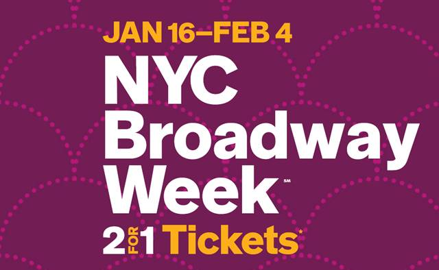 NYC Broadway Week 2018 Winter (1)