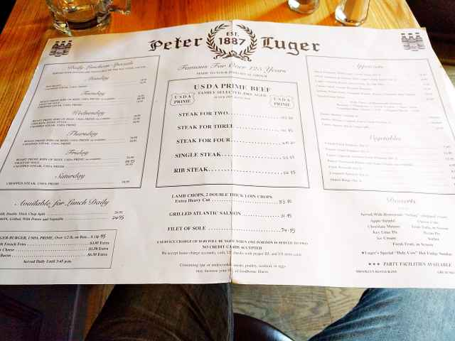 Peter Luger Steak House (6)