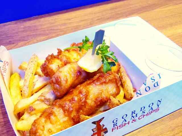 Gordon Ramsay Fish & Chips (6)