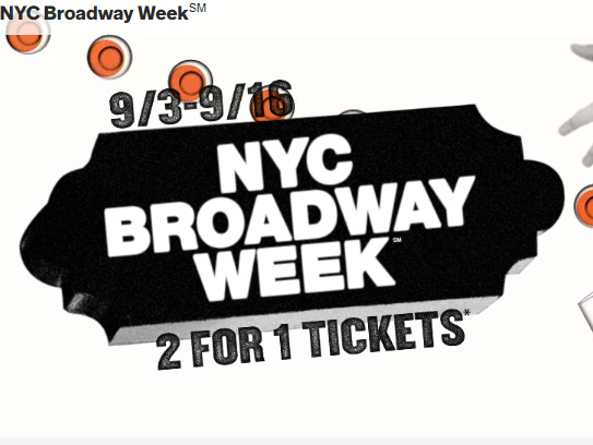 Broadway Week 2018 Summer (1)