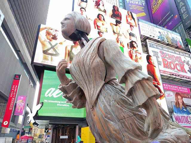Times Square Public Art (1)