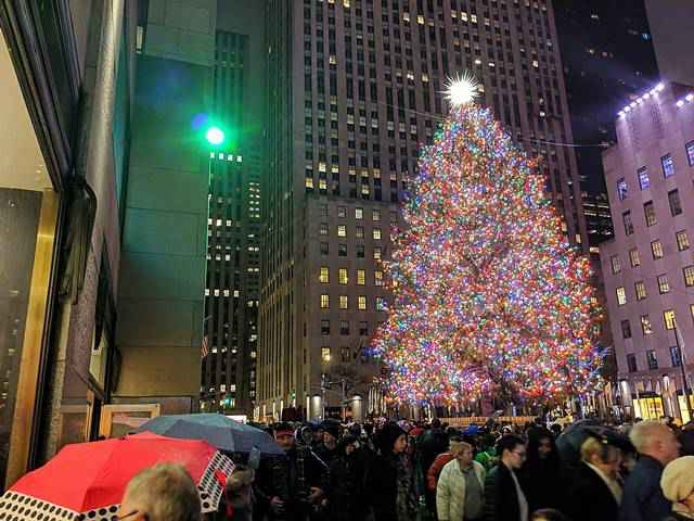 Rockefeller Center X'mas Tree