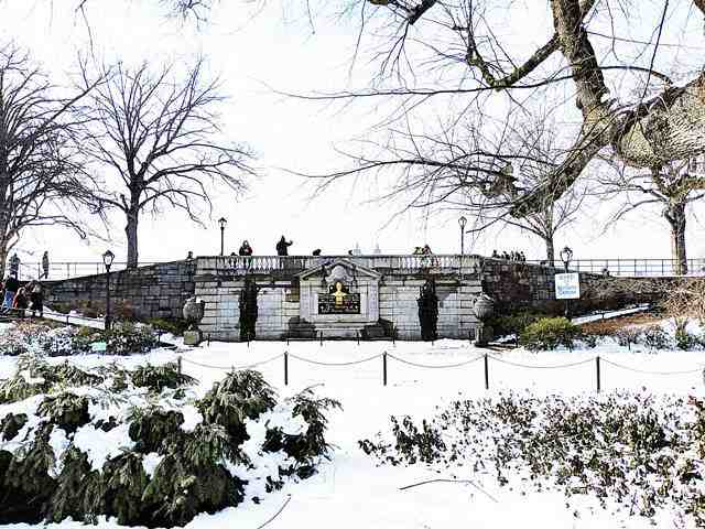 Central Park in Snow (1)