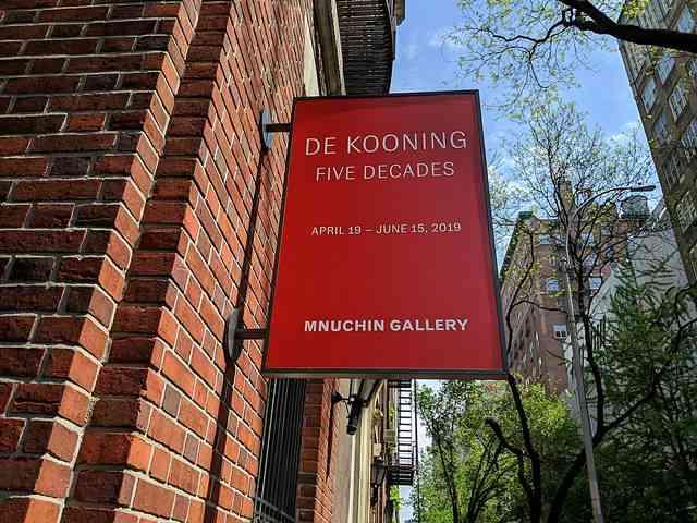 De Kooning – Mnuchin Gallery (3)