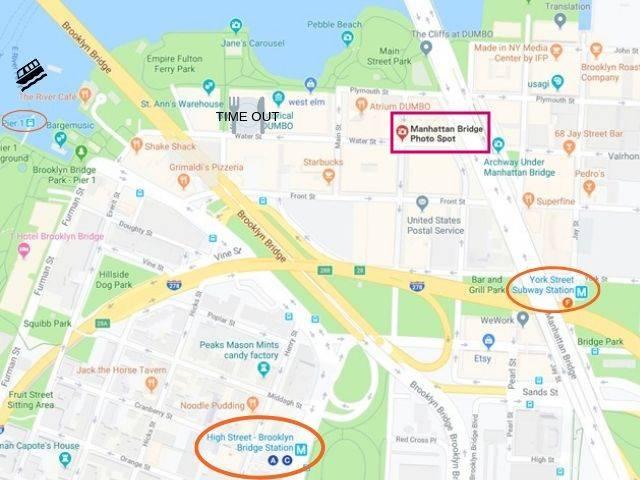 Manhattan Bridge Photo Spot MAP