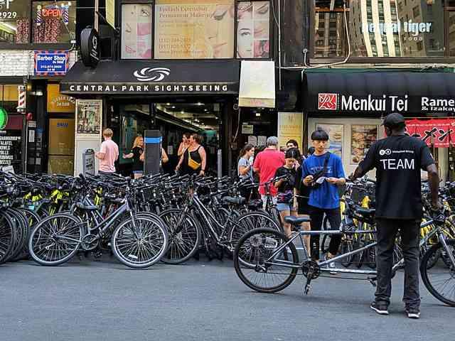 Central Park Sightseeing Bike Rentals