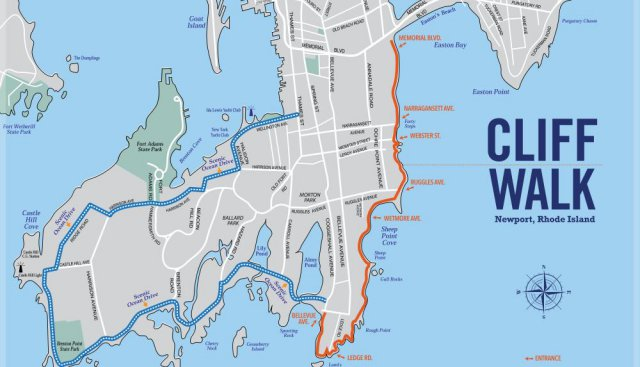 cliff-walk-and-ocean-drive-map