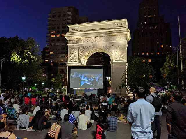 Washington Square Park Movie (1)