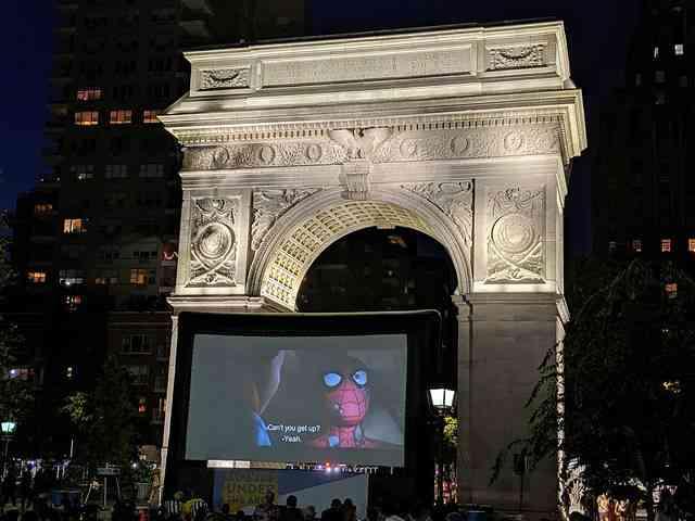 Washington Square Park Movie (2)