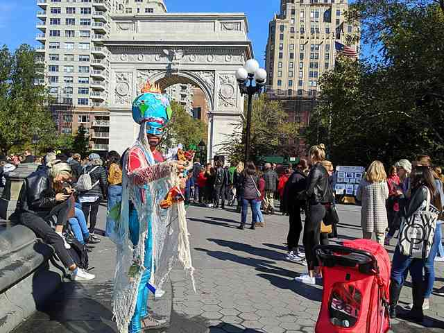 Dog Day Halloween Costume Party Parade Washington Square Park (7)