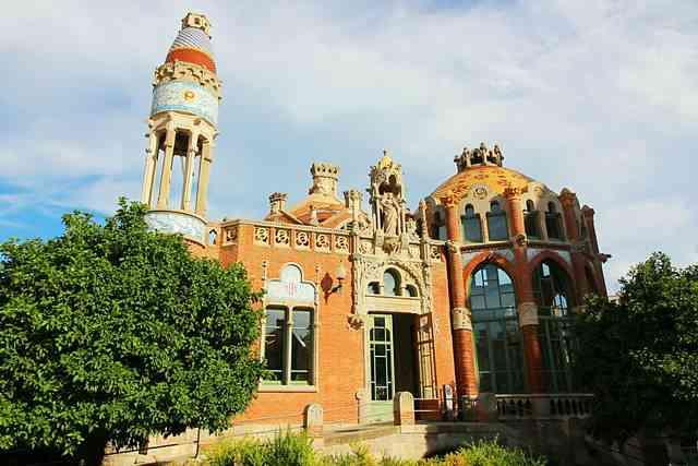 Hospital de la Santa Creu i Sant Pau Barcelona (3)