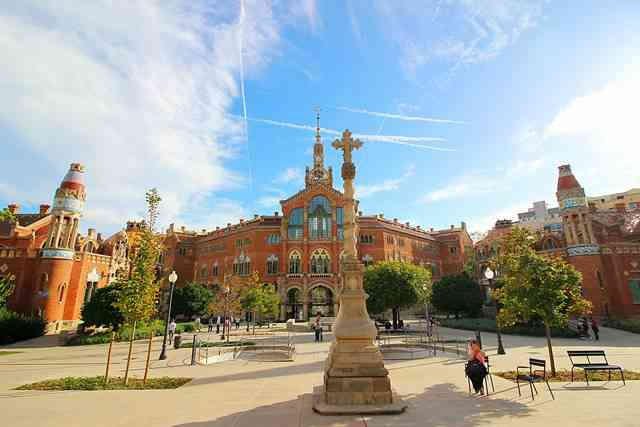 Hospital de la Santa Creu i Sant Pau Barcelona (7)