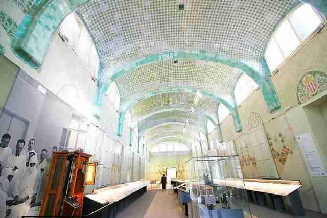 Hospital de la Santa Creu i Sant Pau Barcelona (8)