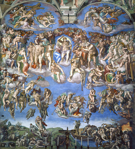 Last-Judgement-Michelangelo
