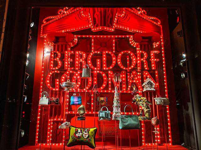 Bergdorf Goodman Holiday Windows (1)