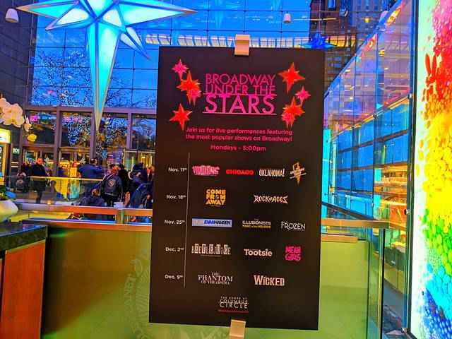 Columbus Circle Broadway Under The Stars (1)