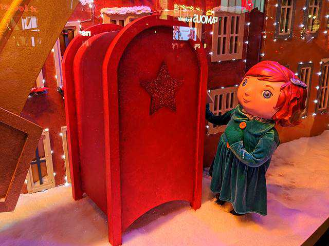 Macy's Christmas Holiday Window (15)