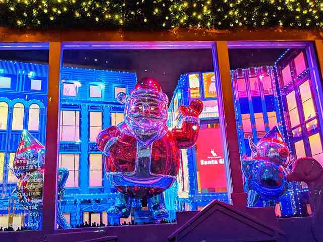 Macy's Christmas Holiday Window (4)