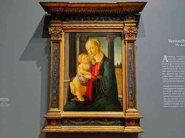 Verrocchio National Gallery Washington DC (15)