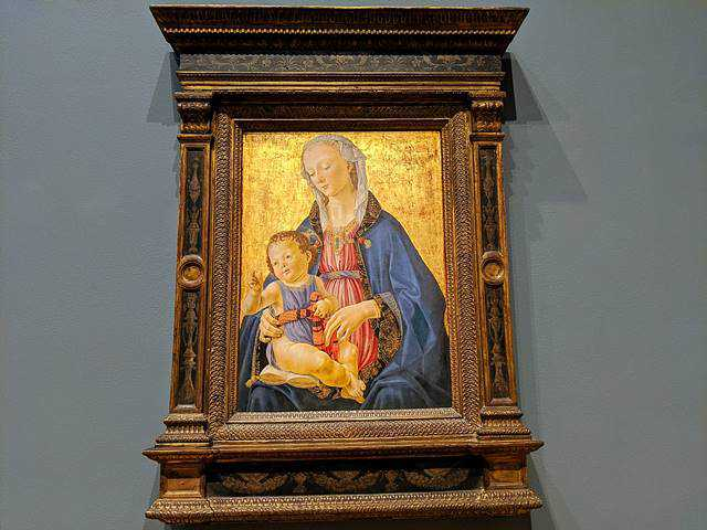Verrocchio National Gallery Washington DC (17)