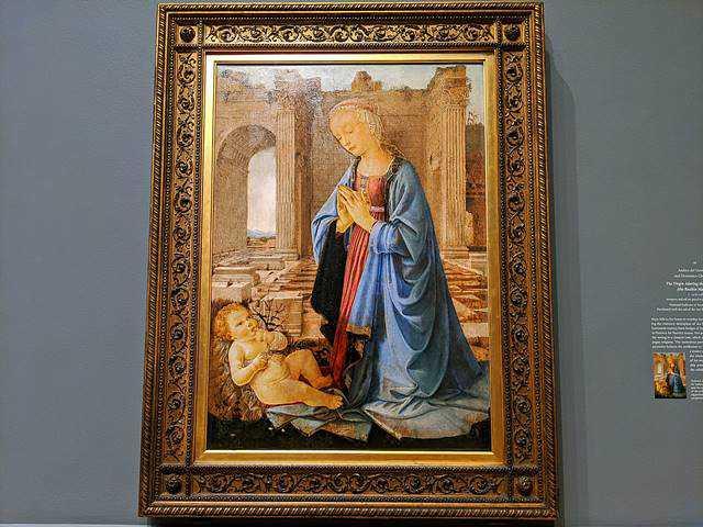 Verrocchio National Gallery Washington DC (19)