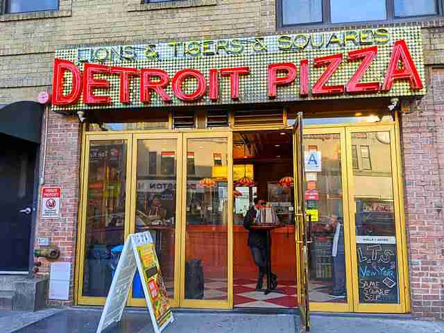 Lions & Tigers & Squares Detroit Pizza (1)