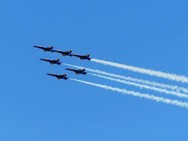 Blue Angels Flight