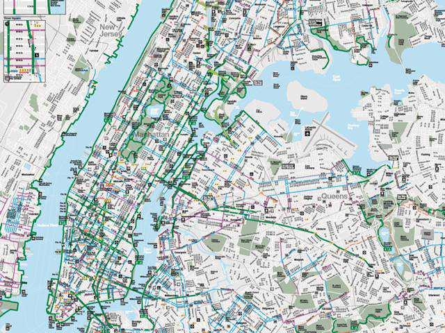 Bike Map New York
