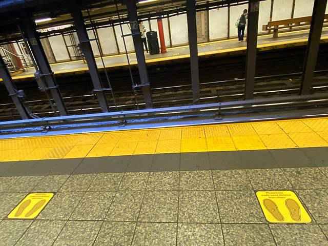 Metro NYC Subway Social Distance (5)